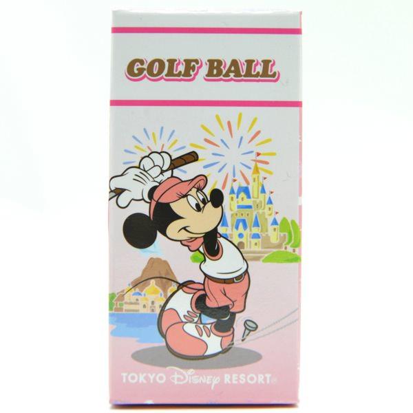 ミッキーペイントディズニーリゾートのかわいいゴルフボールの
