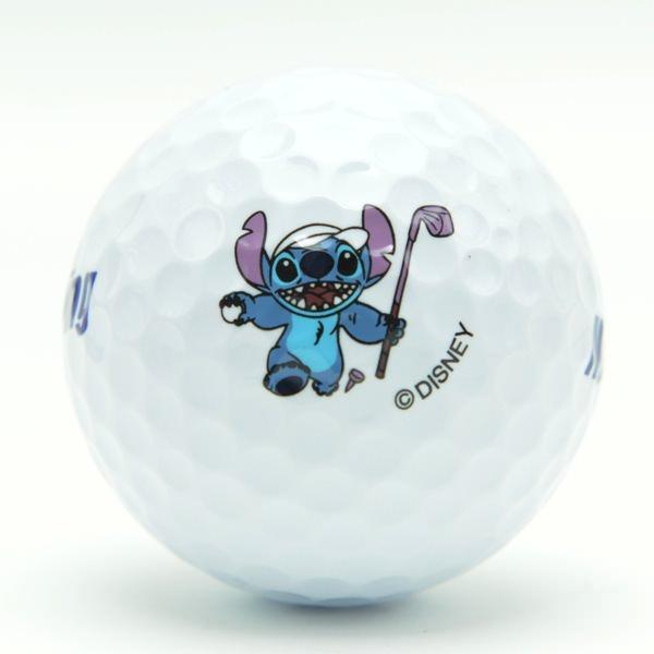 スティッチのゴルフボール