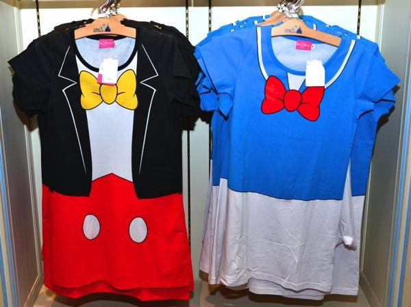ミッキー・ドナルドなりきりTシャツ