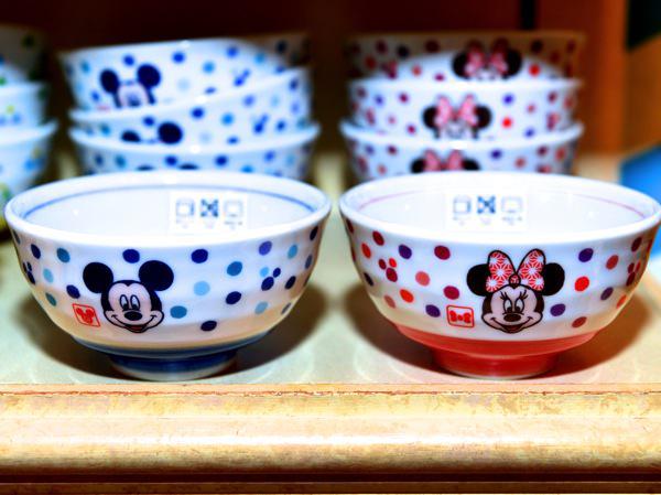 ミッキー・ミニーお茶碗