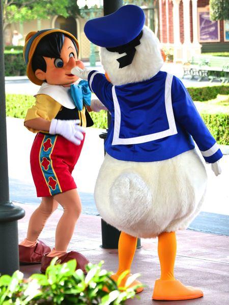 ドナルド&ピノキオ3