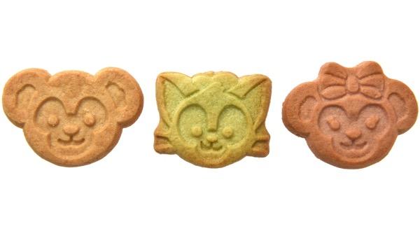 シナモンクッキー・クランベリークッキー・グリーンアップルクッキー