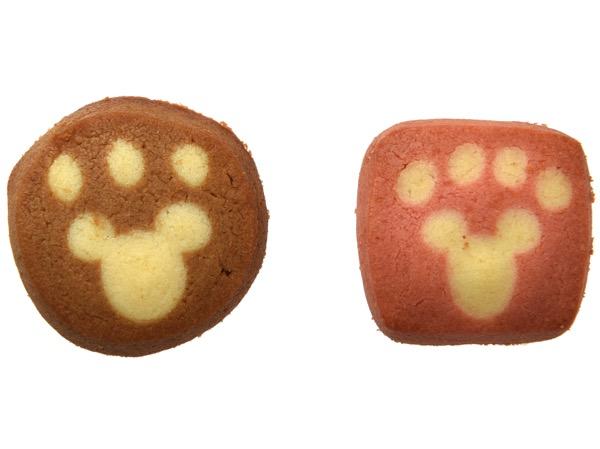 ダッフィーとジェラトーニ足型クッキー