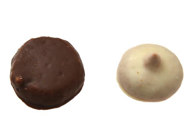 チョコレートカバードクッキー