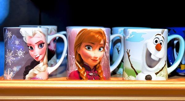 アナと雪の女王マグカップ(エルサ・アナ・オラフ)リゾート限定