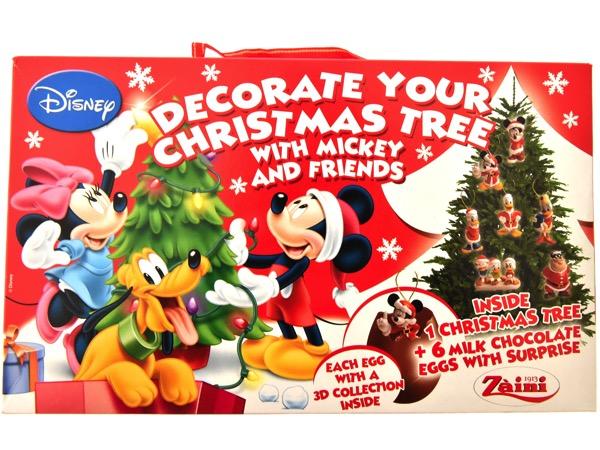 ミッキー&フレンズクリスマスチョコレートエッグツリーセット