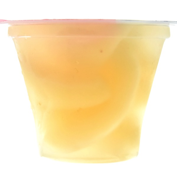 白桃ゼリー中身