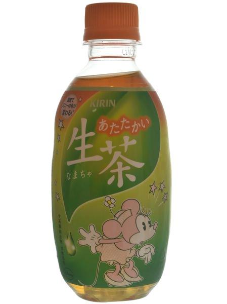 生茶ミニーピンク