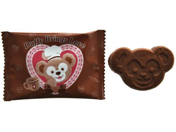 ミルクチョコレート付きチョコレートクッキー