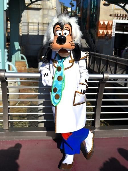 博士グーフィー