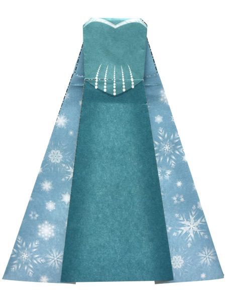 エルサ冬ドレス