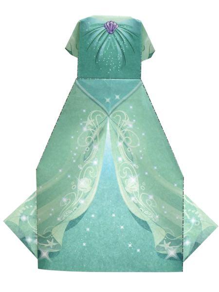 アリエルのドレス