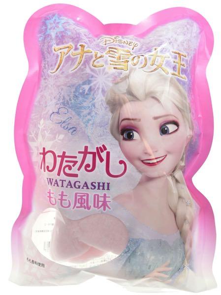 「アナと雪の女王 わたがし もも風味