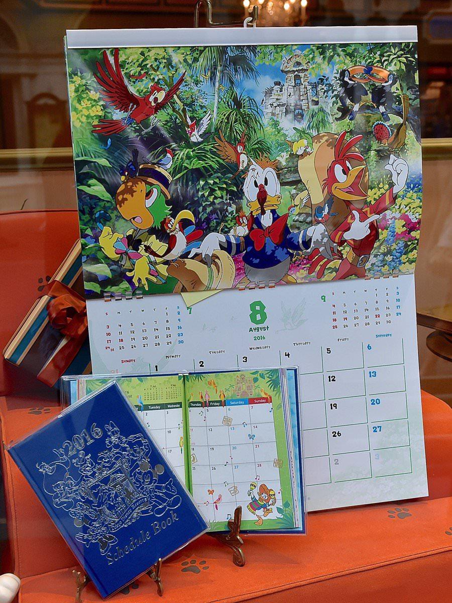 2016年も種類が豊富☆ディズニーランドのカレンダー&スケジュール帳 -