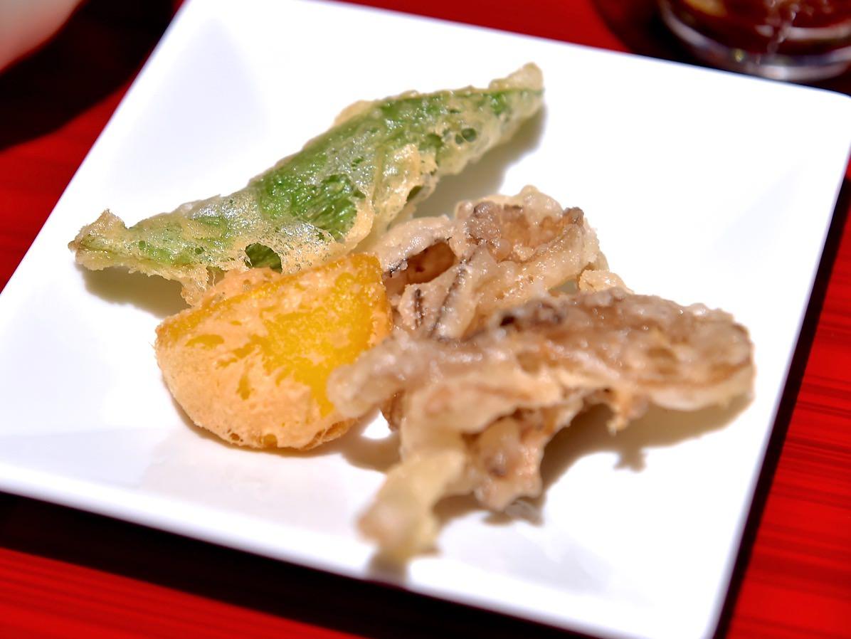 舞茸と野菜のフリッター