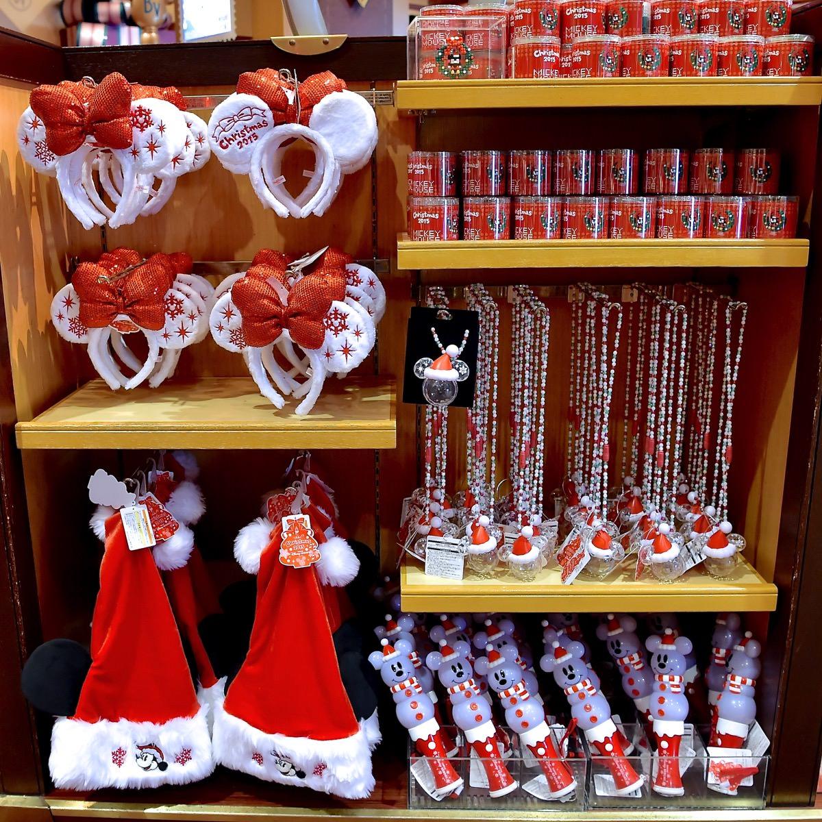 クリスマスツリーやリースも☆ディズニークリスマス2015スペシャルグッズ -
