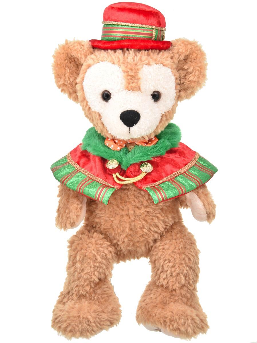 パーフェクトクリスマスダッフィーぬいぐるみコスチューム立ち姿