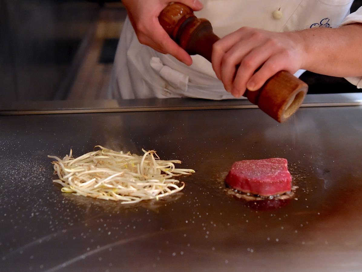 ビーフテンダーロインステーキ 調理