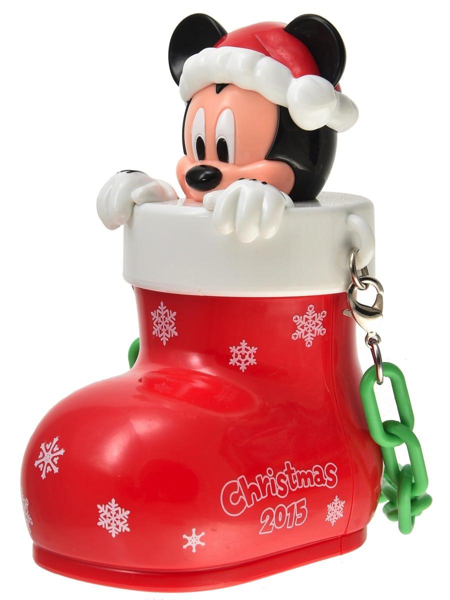 ディズニークリスマス2015ミニスナックケース斜めから