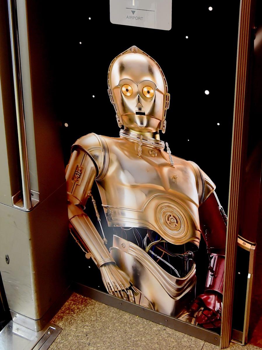 C-3PO車内