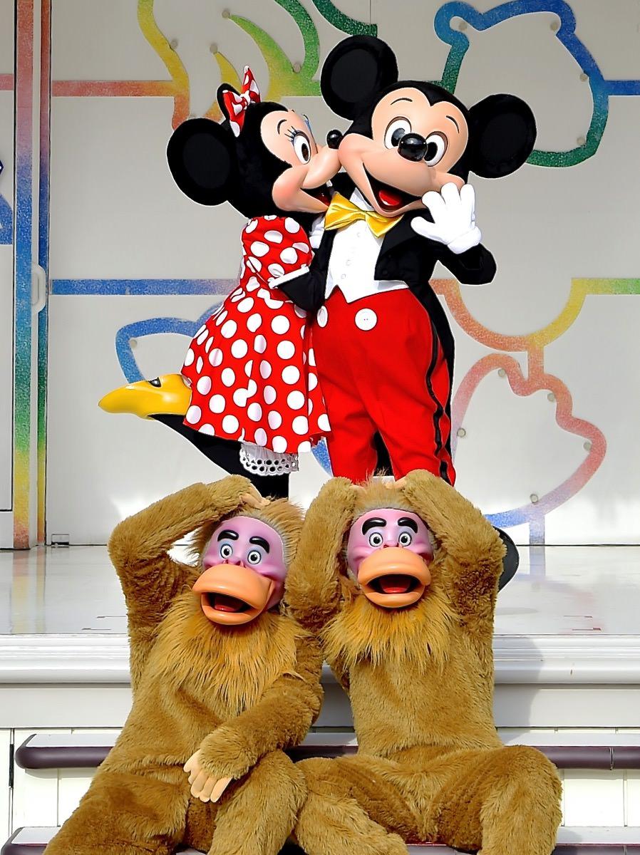 ラブラブなミッキー&ミニー