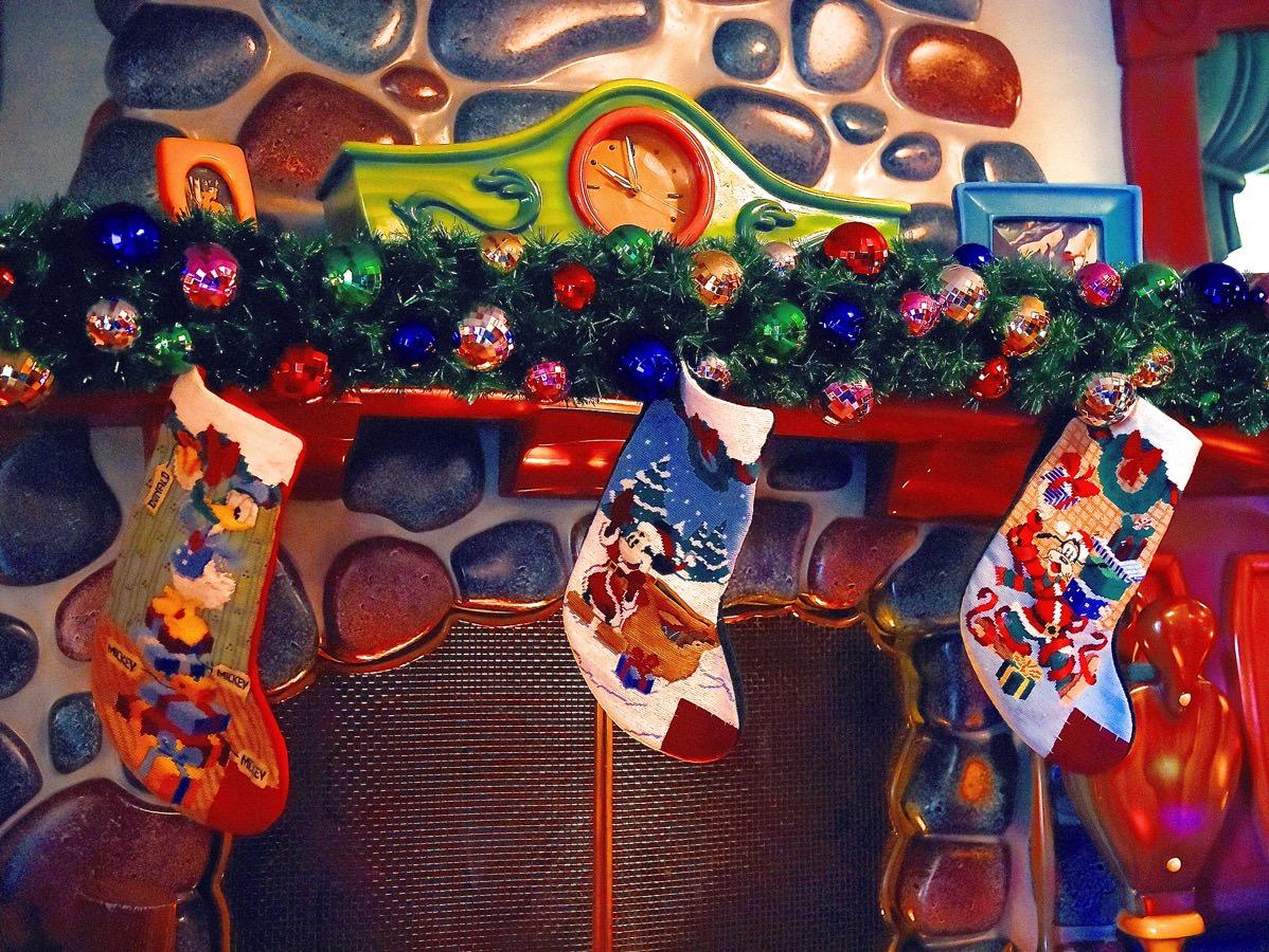 クリスマス靴下デコレーション