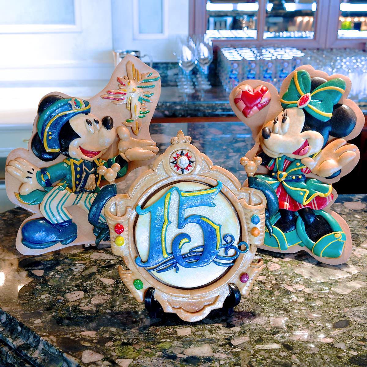 """ベッラヴィスタラウンジ""""東京ディズニーシー・ホテルミラコスタ 15th アニバーサリー"""" ランチコース前期"""