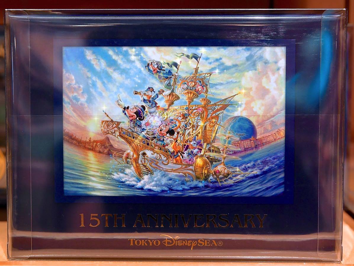 TDS15周年ミッキー&ミニーコレクションドールセット 箱