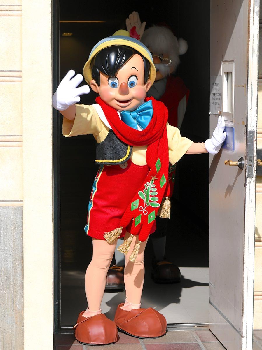 かわいいピノキオ ゼペット