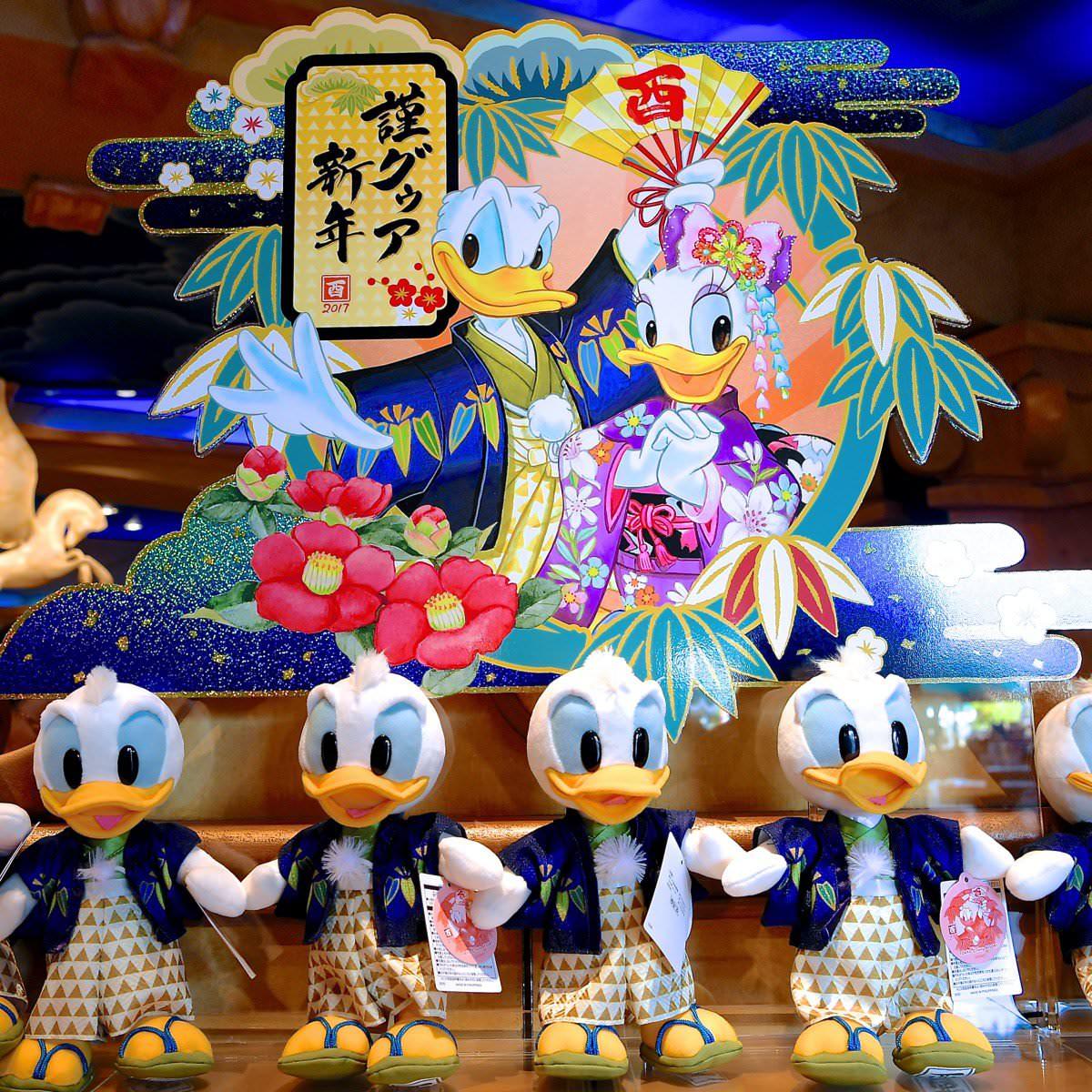 酉年はドナルドが主役☆東京ディズニーランド2017年お正月グッズまとめ -
