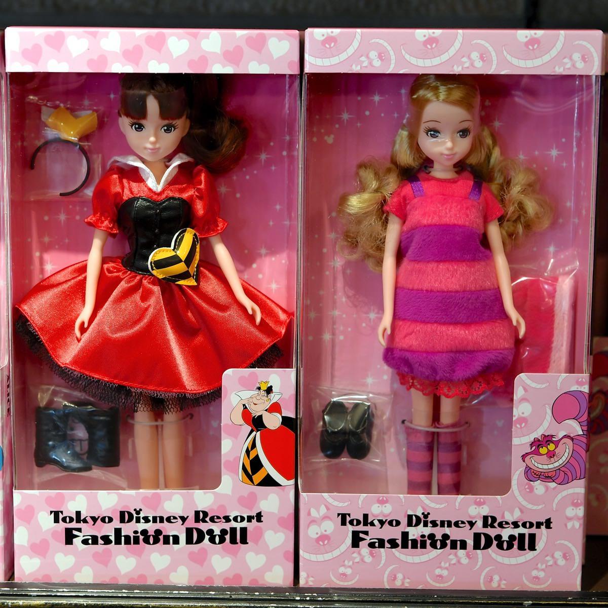 東京ディズニーリゾートファッションドール ハートの女王・チェシャ猫
