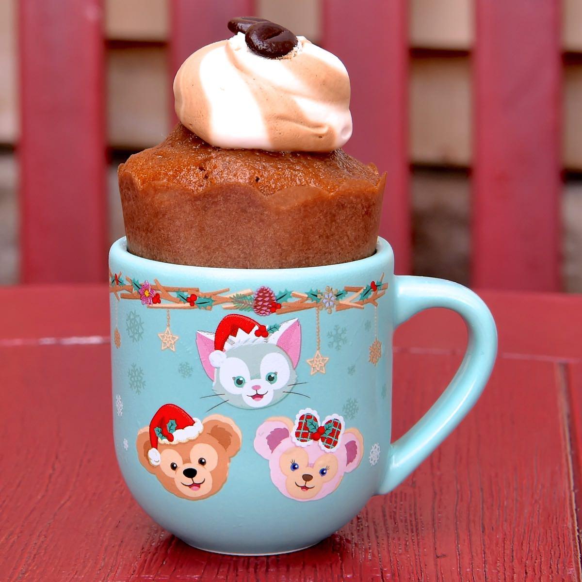 コーヒーカップケーキ、スーベニアデミタスカップ付き
