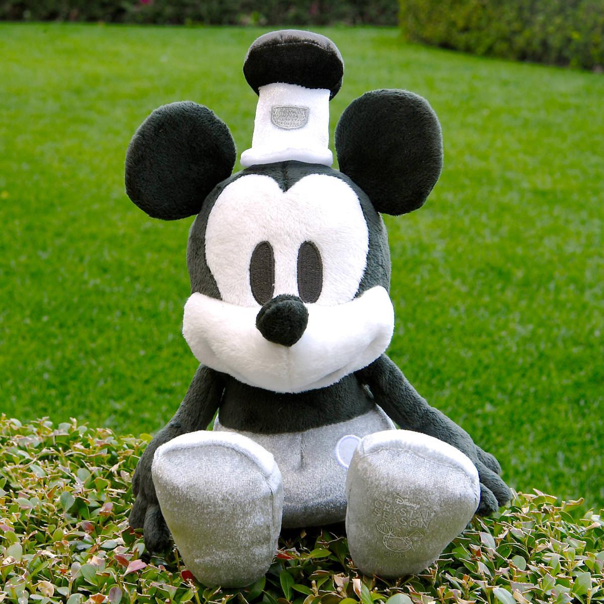 ミッキーマウス ぬいぐるみ~蒸気船ウィリー~