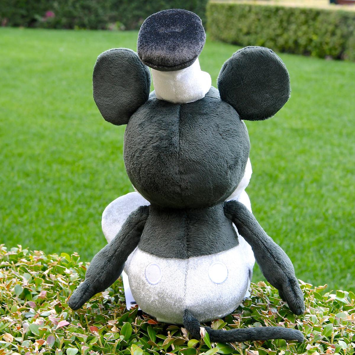 ミッキーマウス ぬいぐるみ~蒸気船ウィリー~後