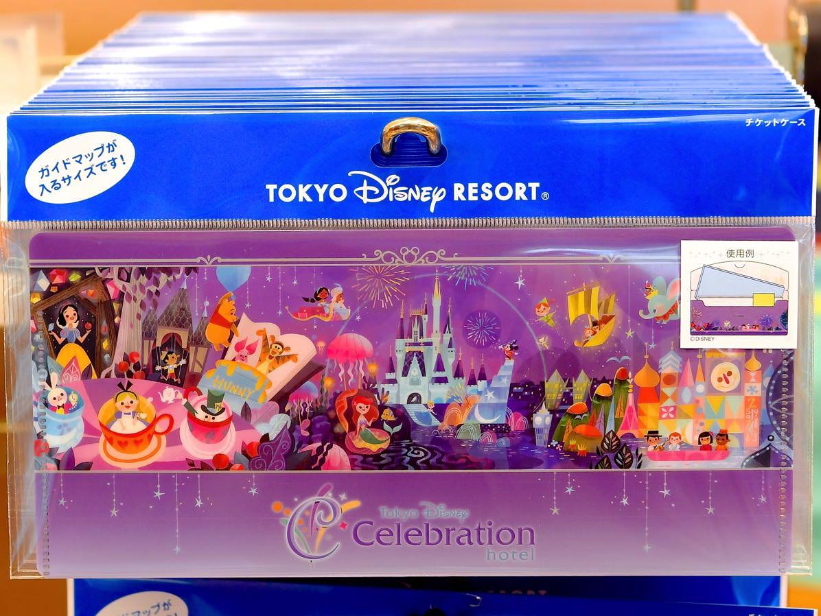 ポストカード&チケットケース☆東京ディズニーセレブレーションホテル