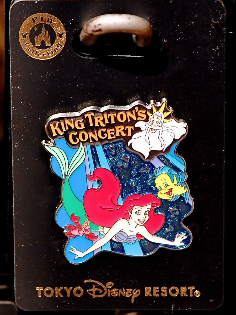 キング・トリトンのコンサートピンバッジ