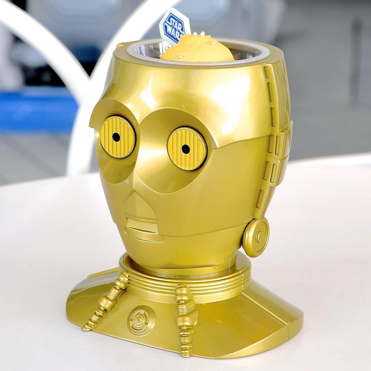 C-3PO スーベニアホルダー アップ サイド