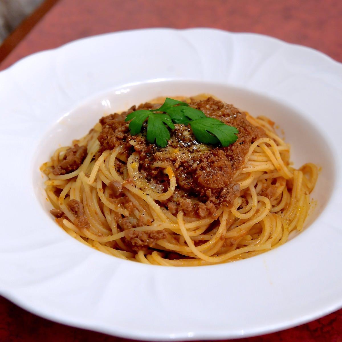 スパゲッティーニ・ボロネーゼ