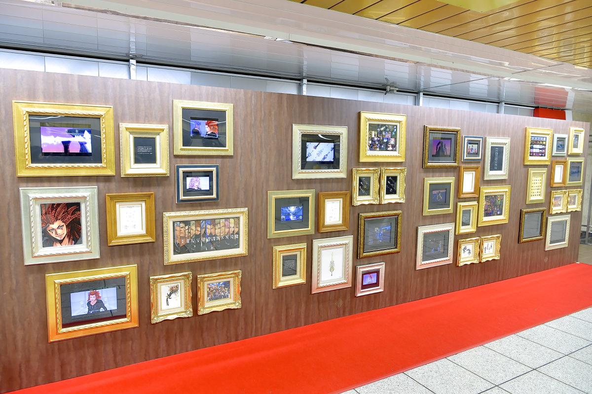 キングダム ハーツ15周年記念展示スペース