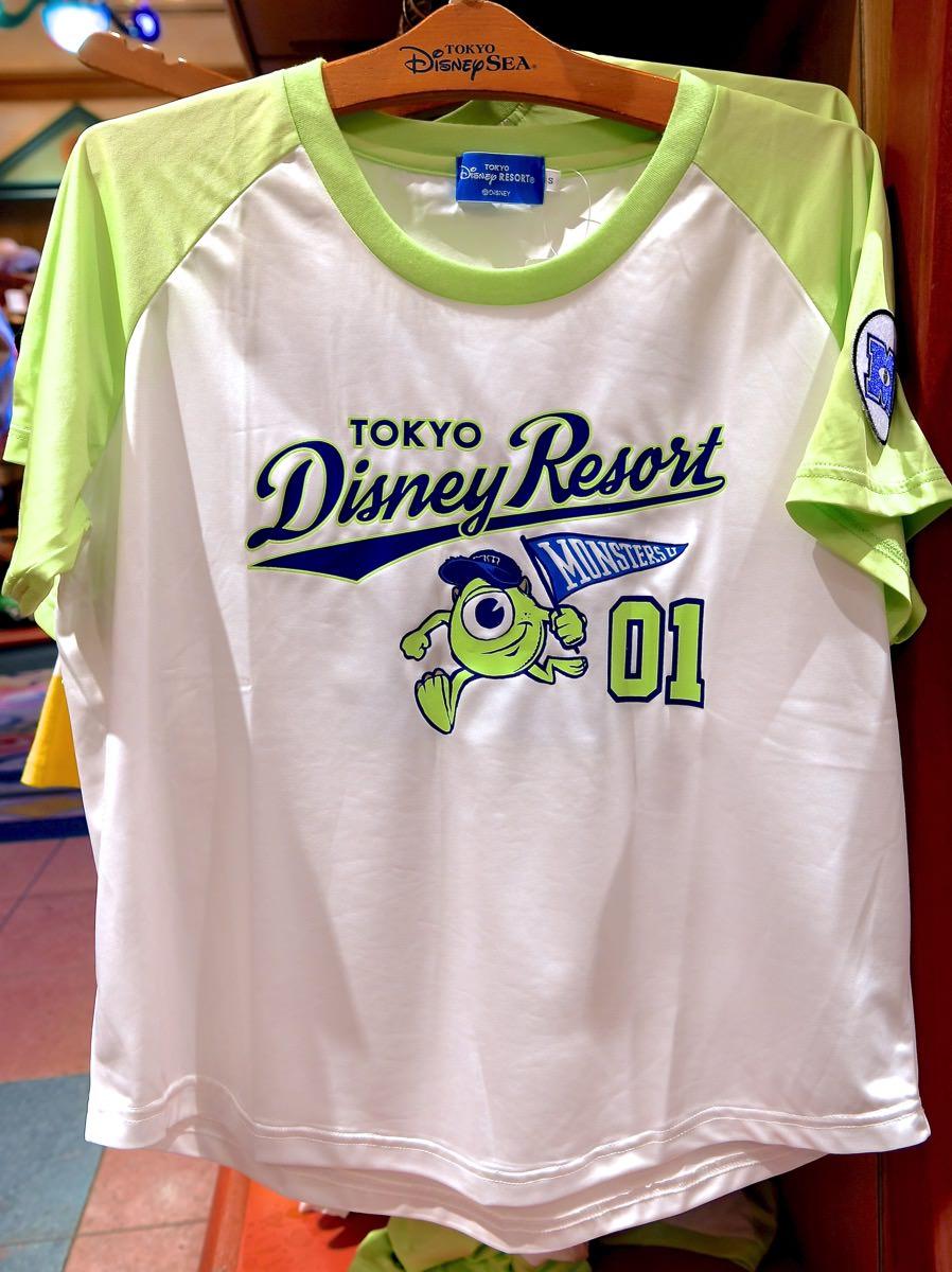 マイクベースボールユニフォーム風Tシャツ