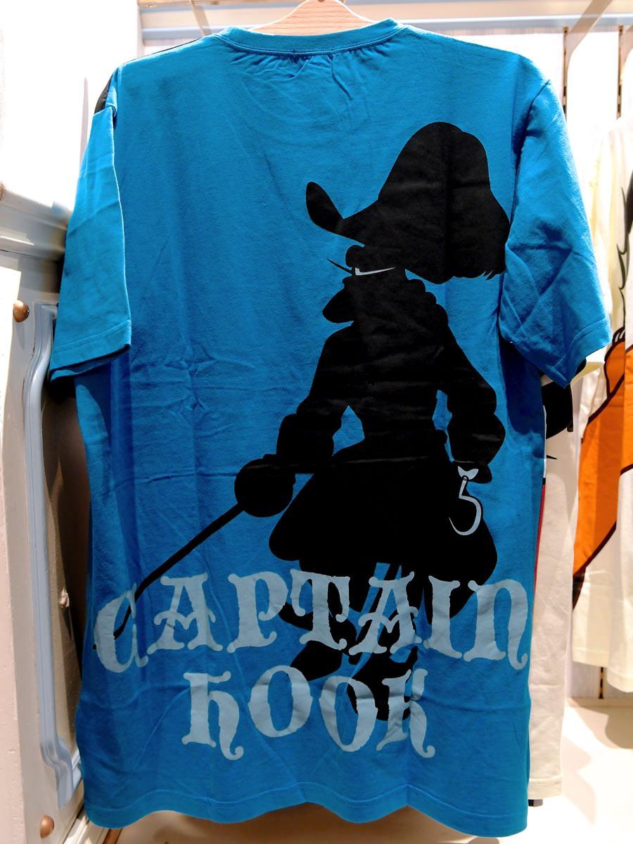 フック船長Tシャツ バックデザイン