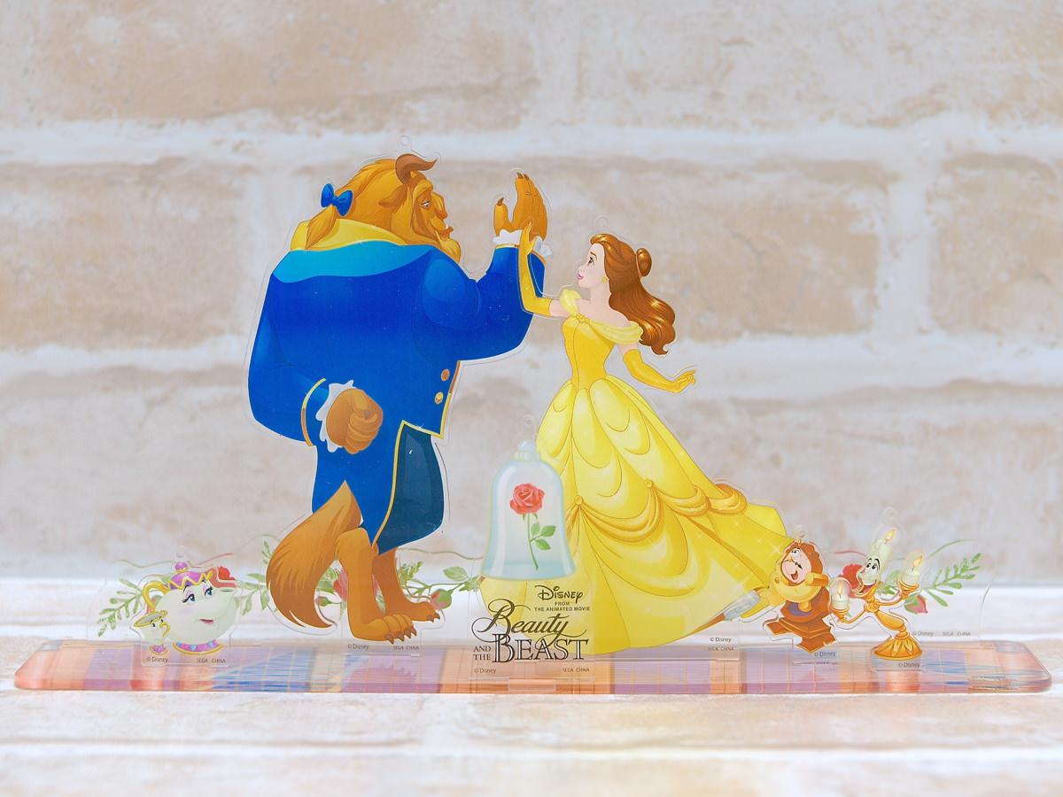 ディズニーアニメーション「美女と野獣」 プレミアムジオラマコレクション 背景無し