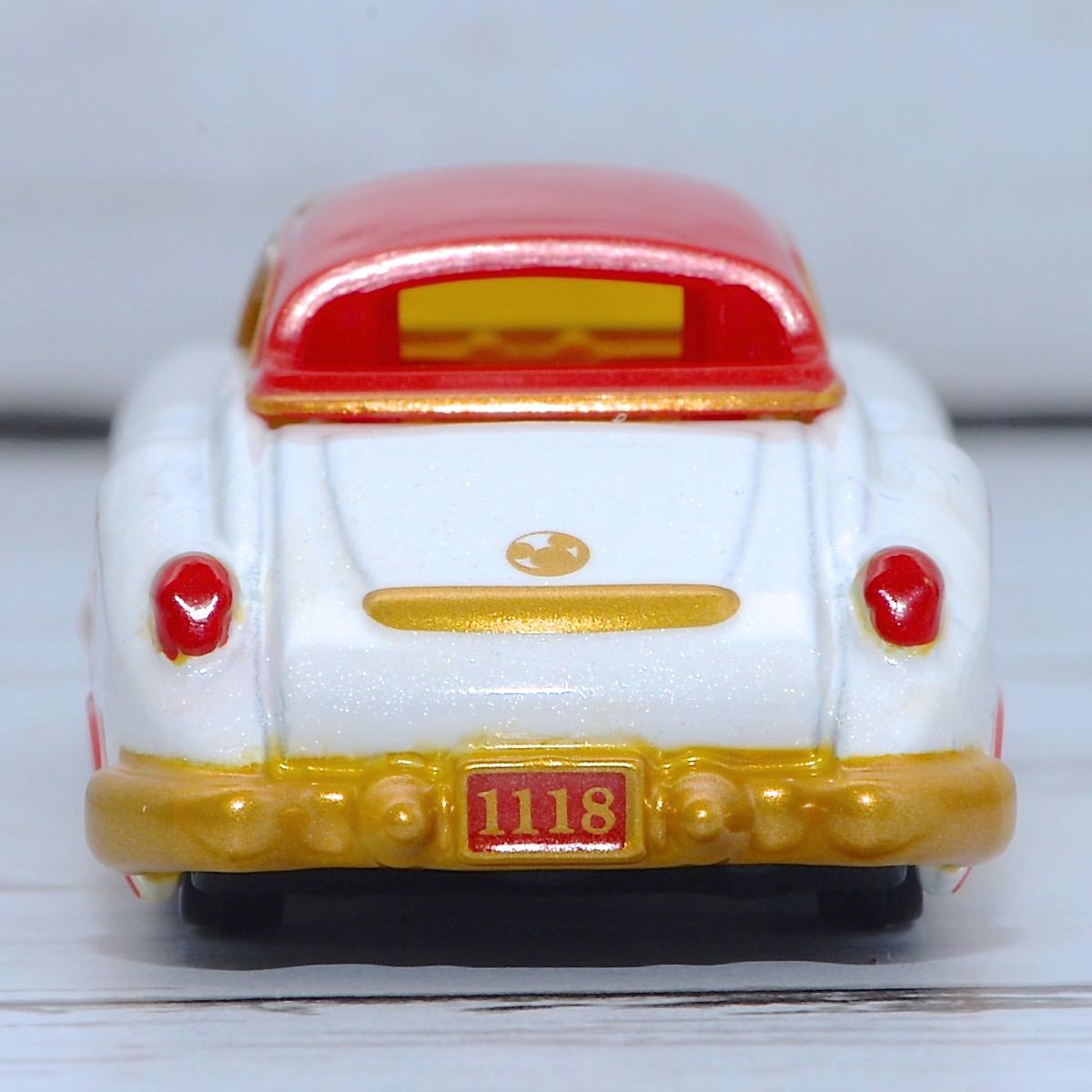 トミカショップオリジナル「ディズニーモータース ドリームスターII スペシャル39 ミッキーマウス」後ろ