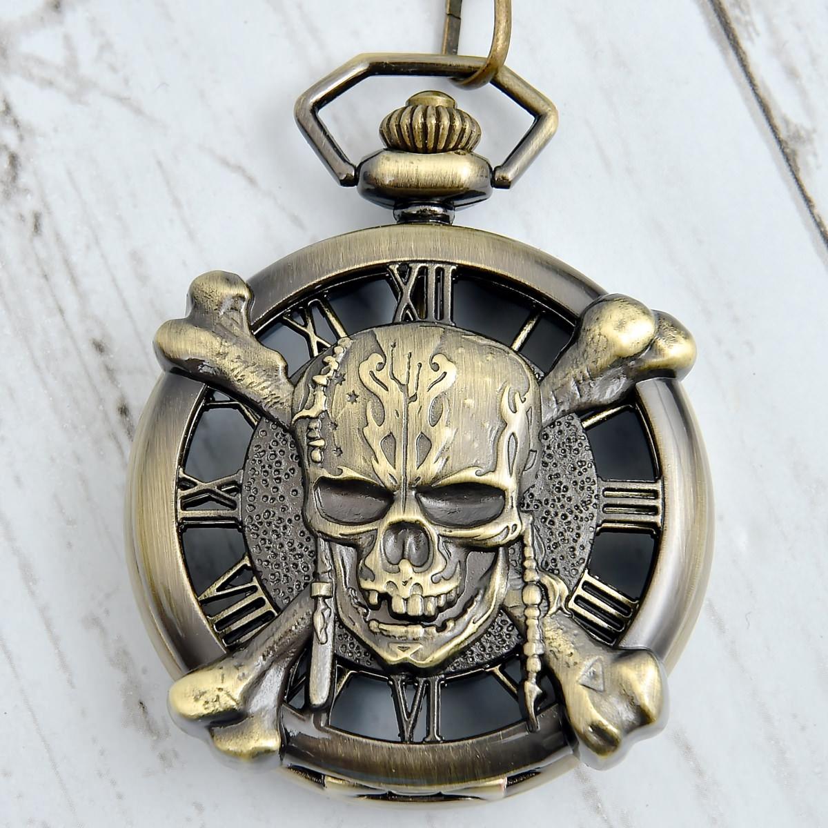 パイレーツ・オブ・カリビアン/最後の海賊 プレミアム懐中時計ゴールドアップ