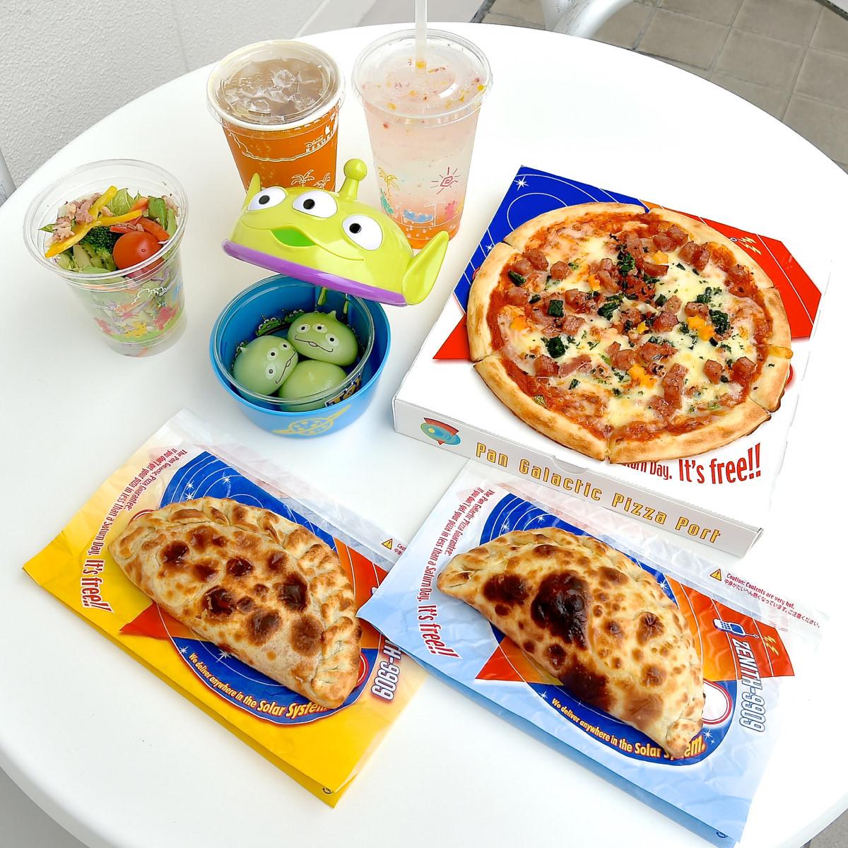 パン・ギャラクティック・ピザ・ポート グランドメニュー