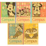 Campusノート ディズニー ミッキー&フレンズ