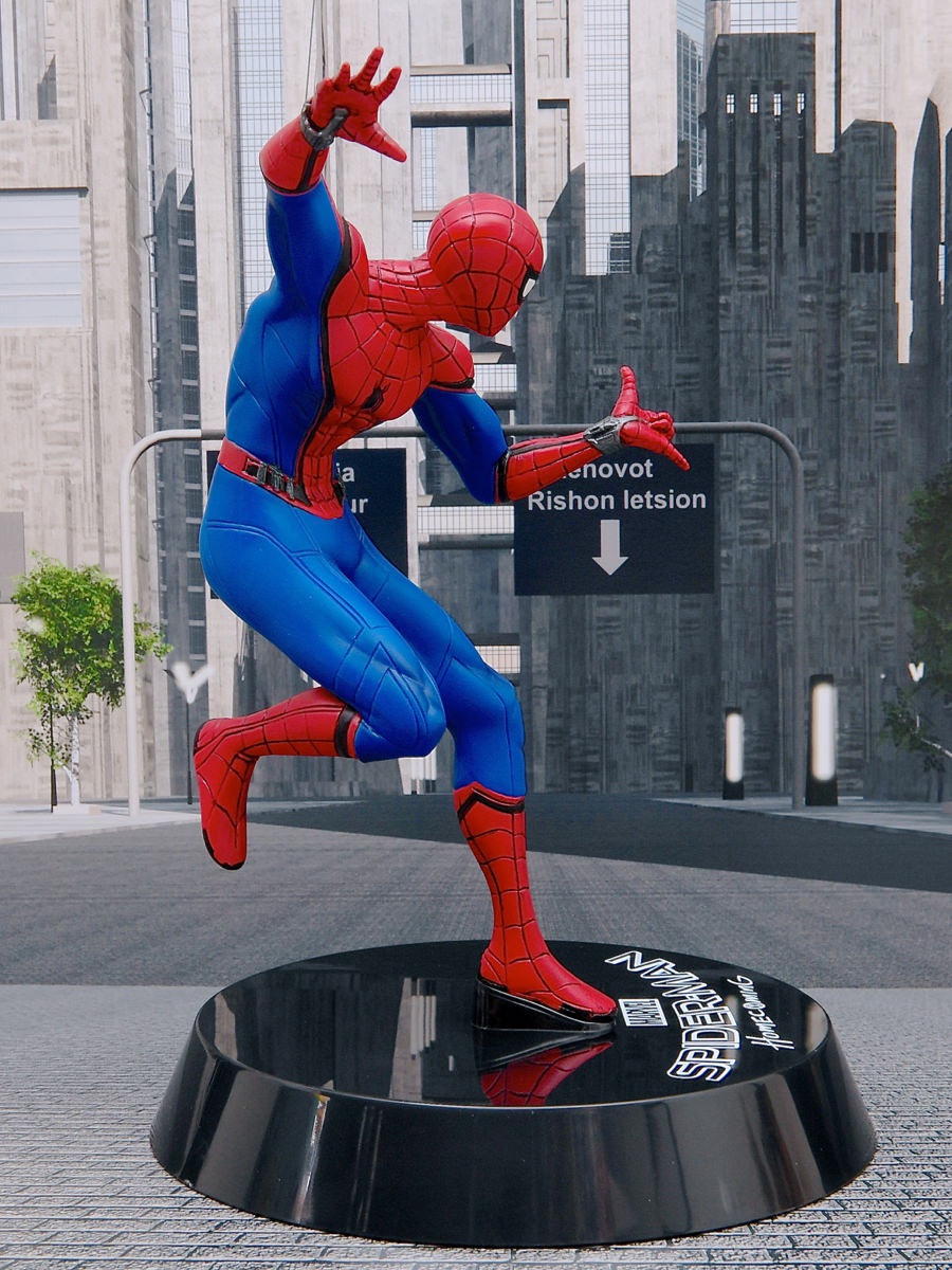 スパイダーマン:ホームカミング プレミアム1/10スケールフィギュア 右