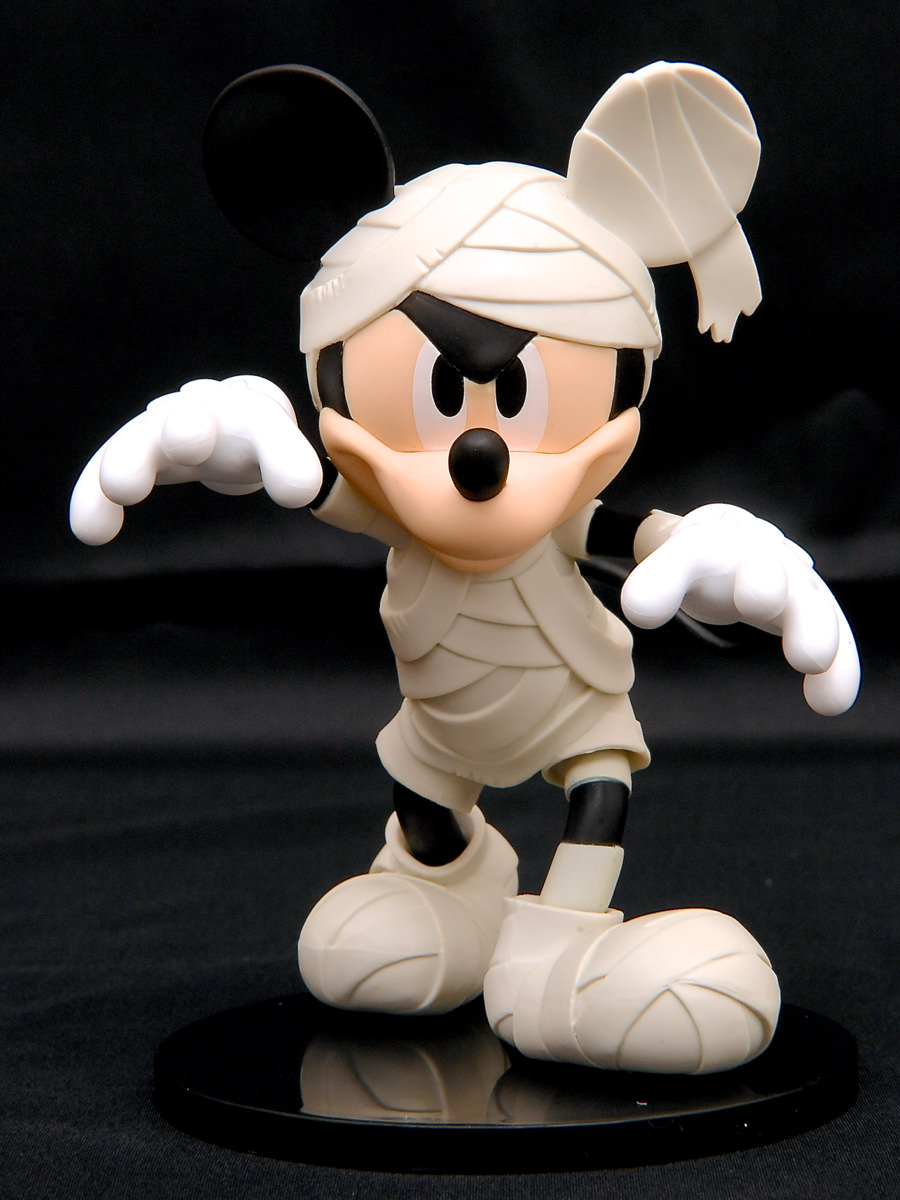 ディズニーキャラクターズ DXF MICKEY MOUSE-Mummy style-オフホワイト
