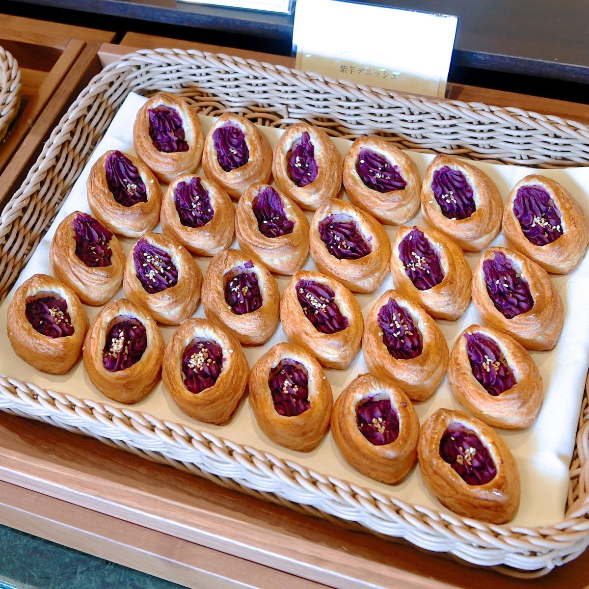 紫芋のデニッシュ