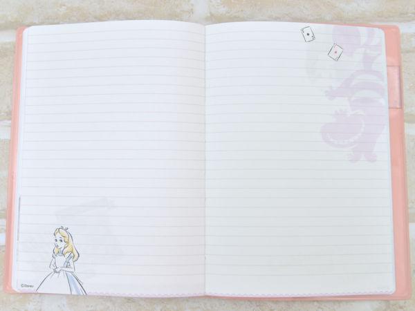 デルフィーノ ディズニーウィークリータイプB6サイズ手帳アリスメモ